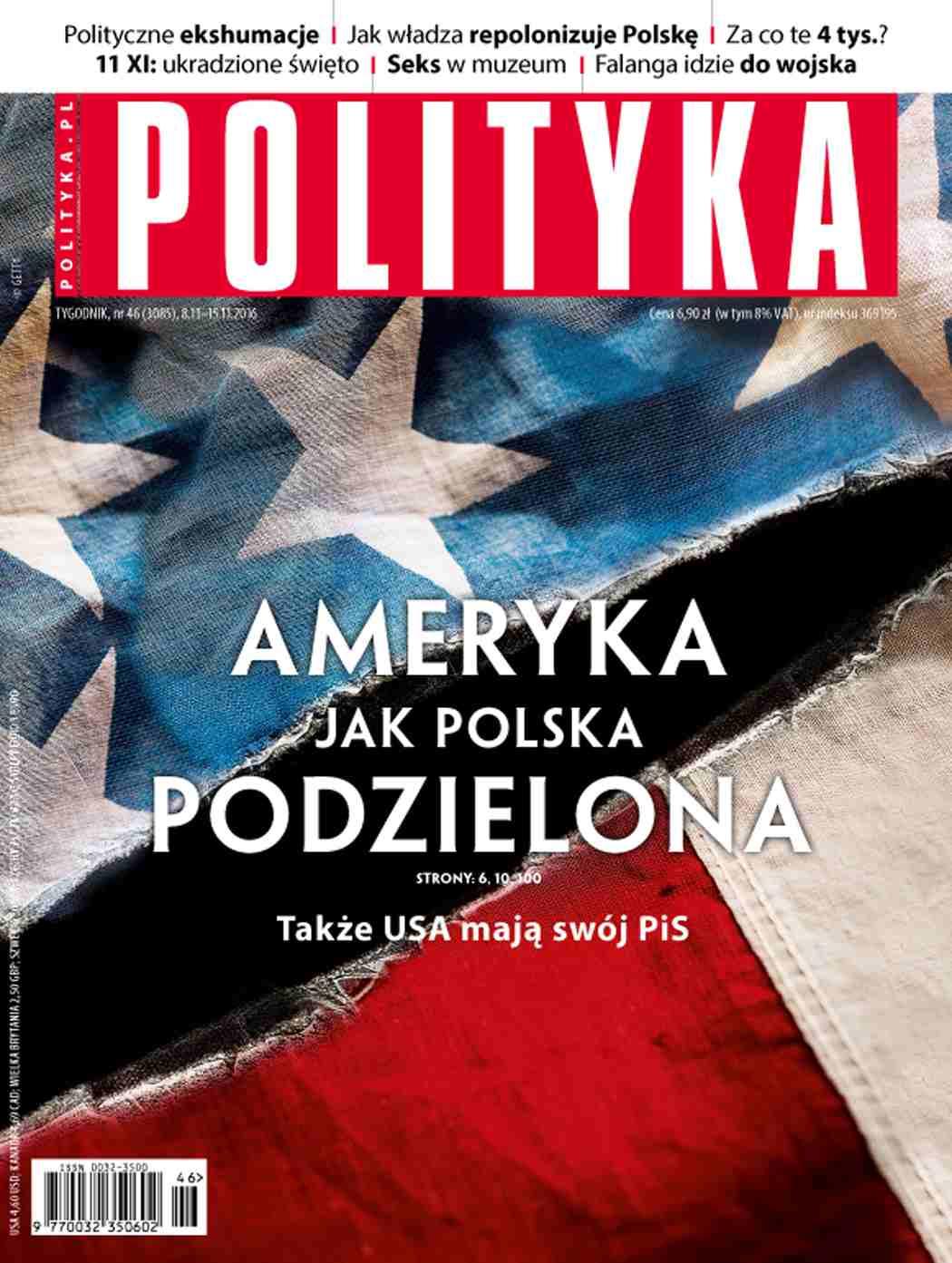 Polityka nr 46/2016 - Ebook (Książka PDF) do pobrania w formacie PDF