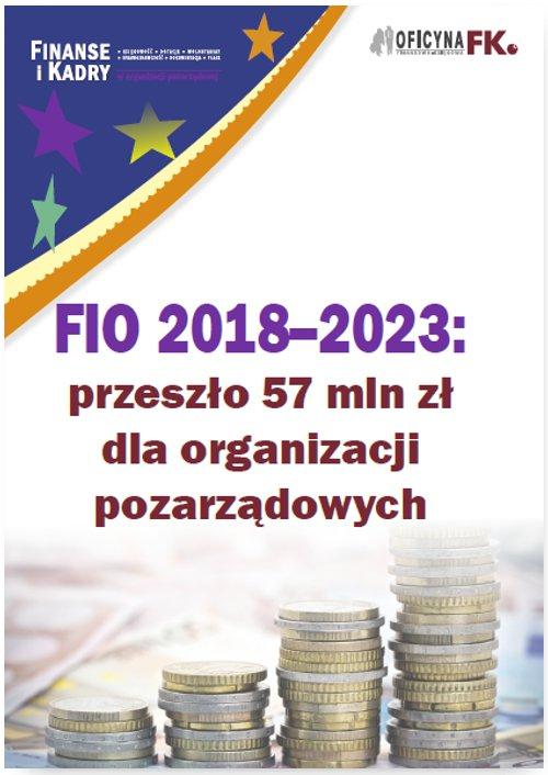 FIO 2018–2023: przeszło 57 mln zł dla organizacji pozarządowych - Ebook (Książka PDF) do pobrania w formacie PDF