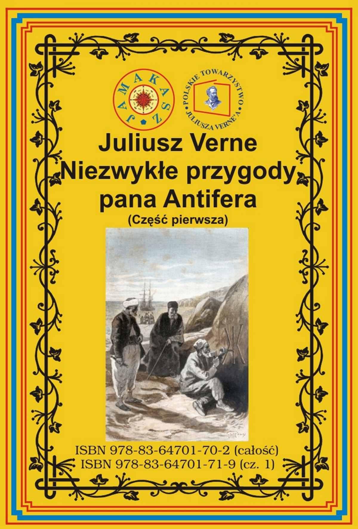 Niezwykłe przygody pana Antifera. Część pierwsza - Ebook (Książka EPUB) do pobrania w formacie EPUB