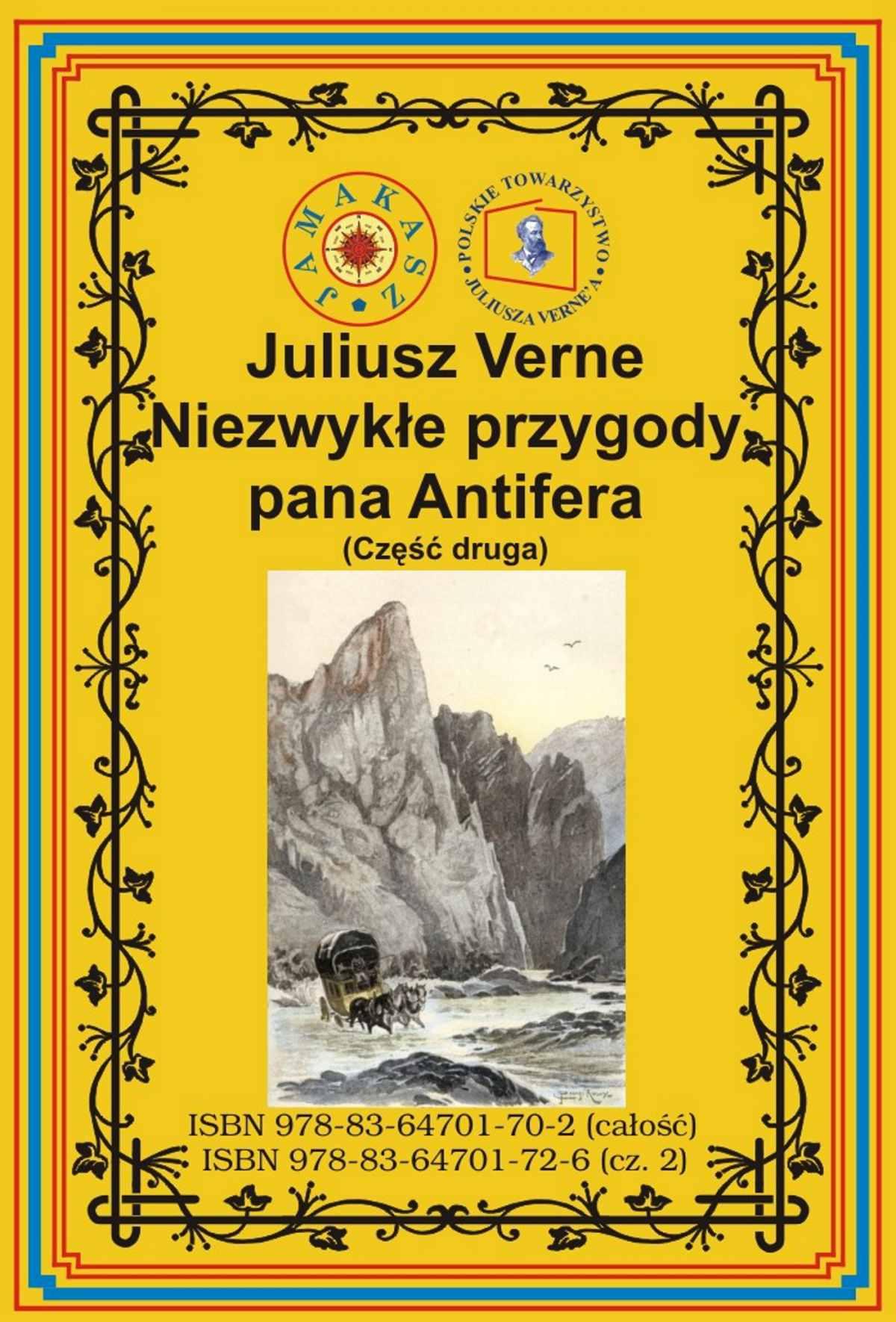 Niezwykłe przygody pana Antifera. Część druga - Ebook (Książka EPUB) do pobrania w formacie EPUB