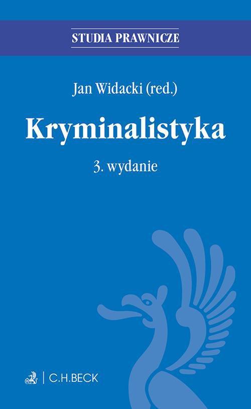 Kryminalistyka - Ebook (Książka PDF) do pobrania w formacie PDF