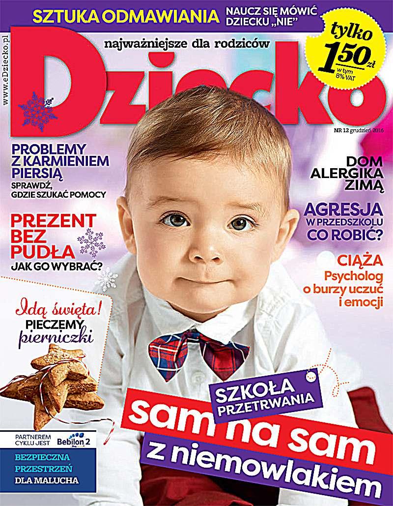 Dziecko 12/2016 - Ebook (Książka PDF) do pobrania w formacie PDF
