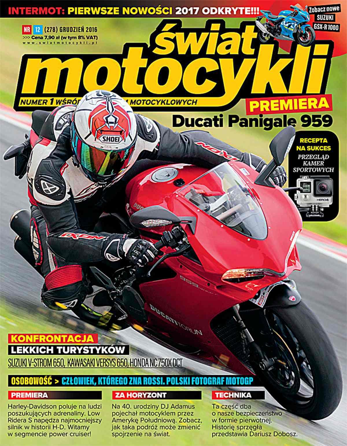 Świat Motocykli 12/2016 - Ebook (Książka PDF) do pobrania w formacie PDF