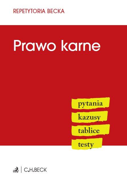 Prawo karne. Pytania. Kazusy. Tablice. Testy - Ebook (Książka PDF) do pobrania w formacie PDF