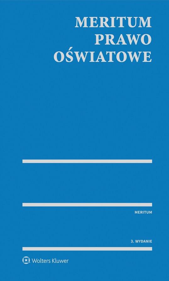 Prawo oświatowe z serii MERITUM - Ebook (Książka PDF) do pobrania w formacie PDF