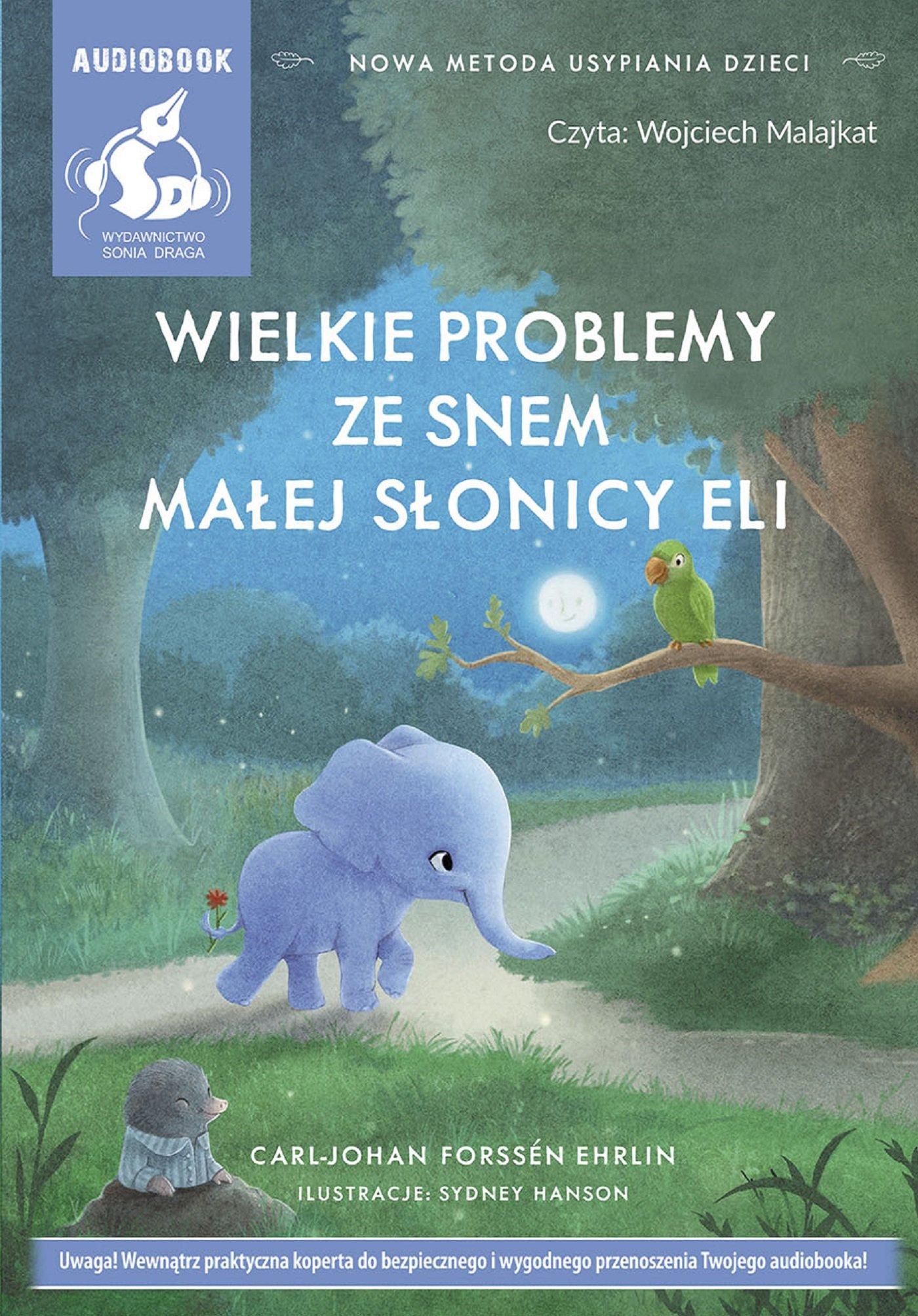 Wielkie problemy ze snem małej słonicy Eli - Audiobook (Książka audio MP3) do pobrania w całości w archiwum ZIP