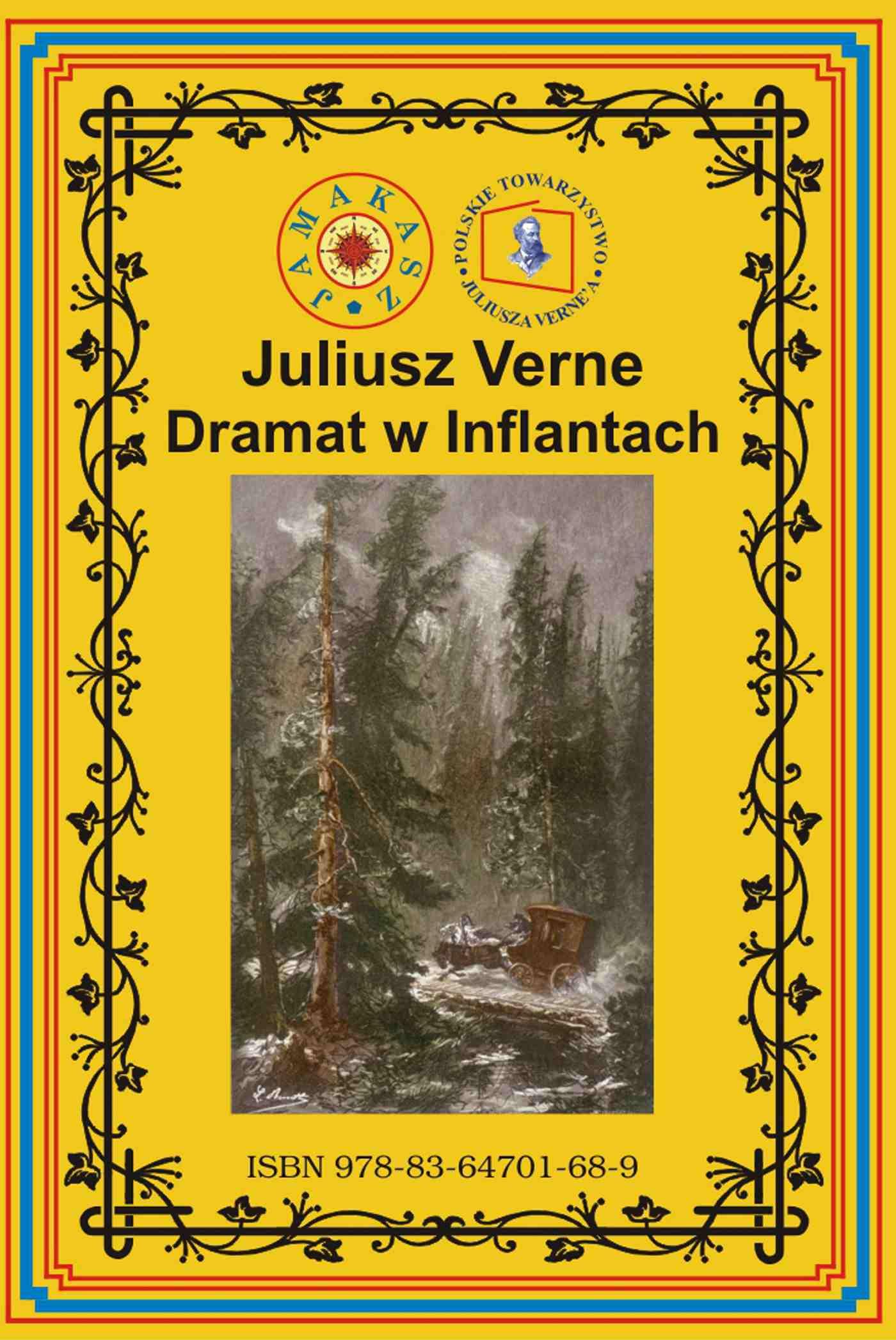 Dramat w Inflantach - Ebook (Książka na Kindle) do pobrania w formacie MOBI
