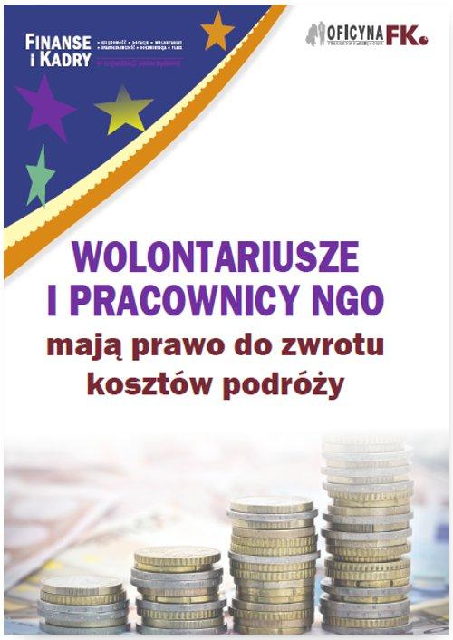 Wolontariusze i pracownicy NGO mają prawo do zwrotu kosztów podróży - Ebook (Książka PDF) do pobrania w formacie PDF