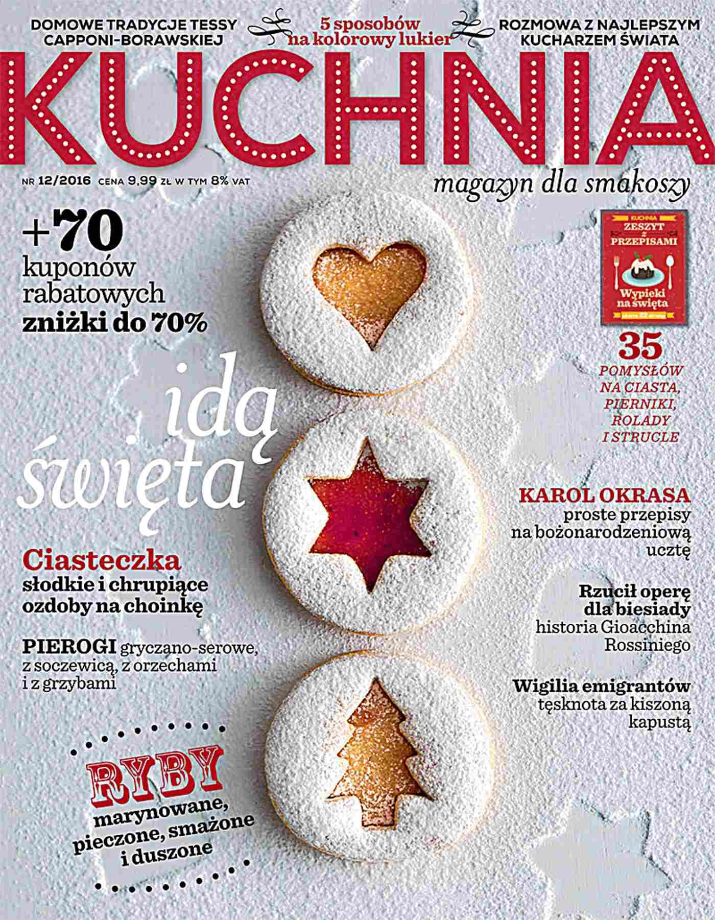 Kuchnia 12/2016 - Ebook (Książka PDF) do pobrania w formacie PDF