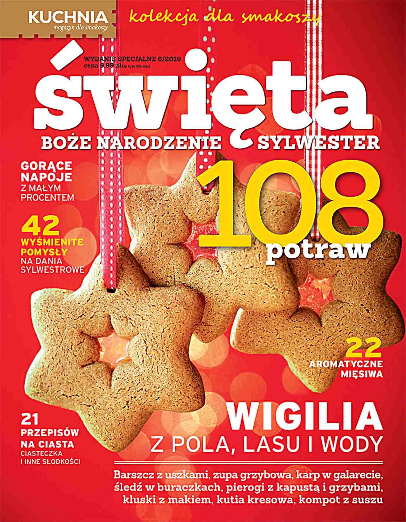 Kuchnia. Kolekcja dla smakoszy. Święta - Ebook (Książka PDF) do pobrania w formacie PDF