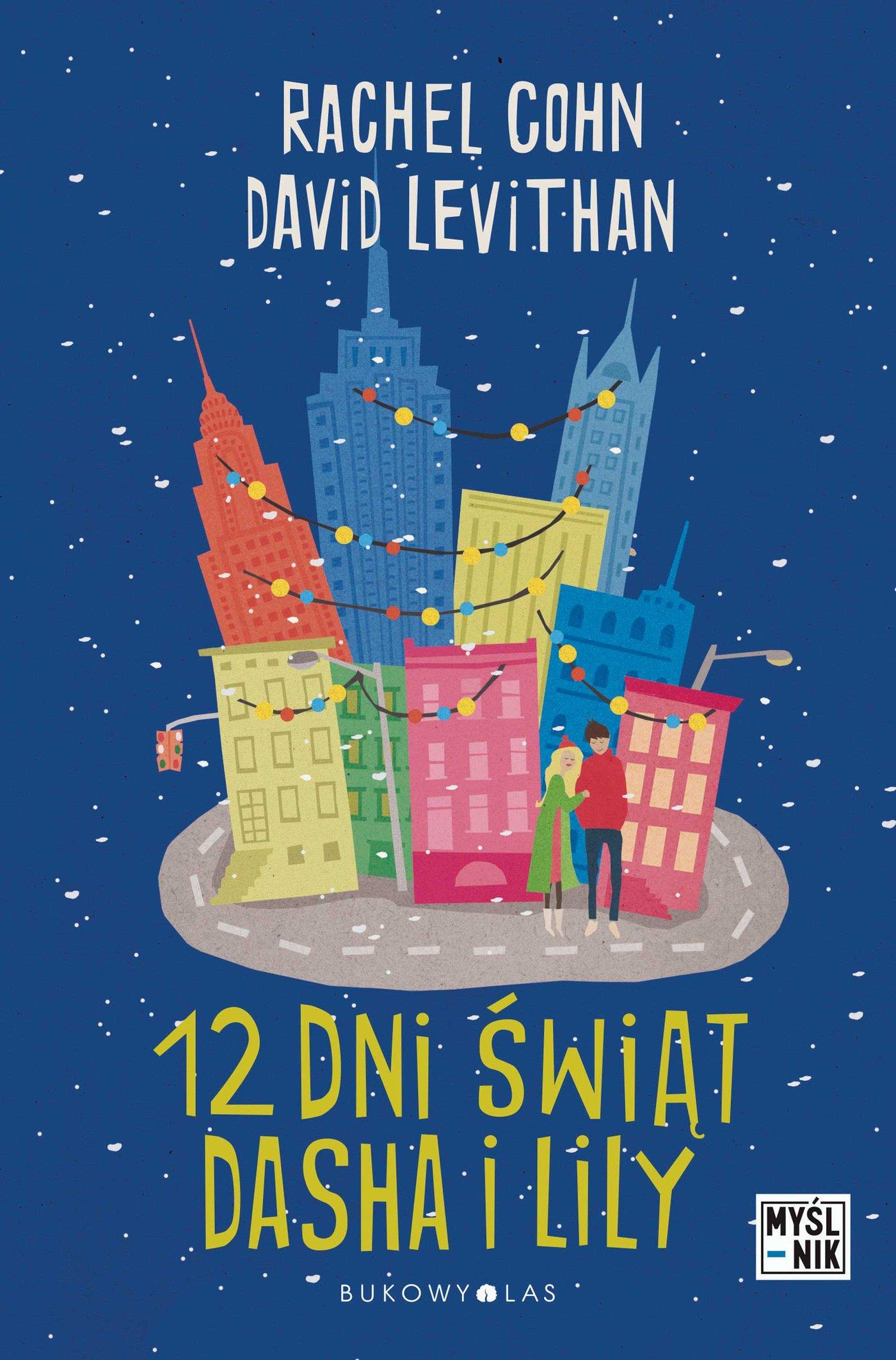 Dwanaście dni świąt Dasha i Lily - Ebook (Książka EPUB) do pobrania w formacie EPUB
