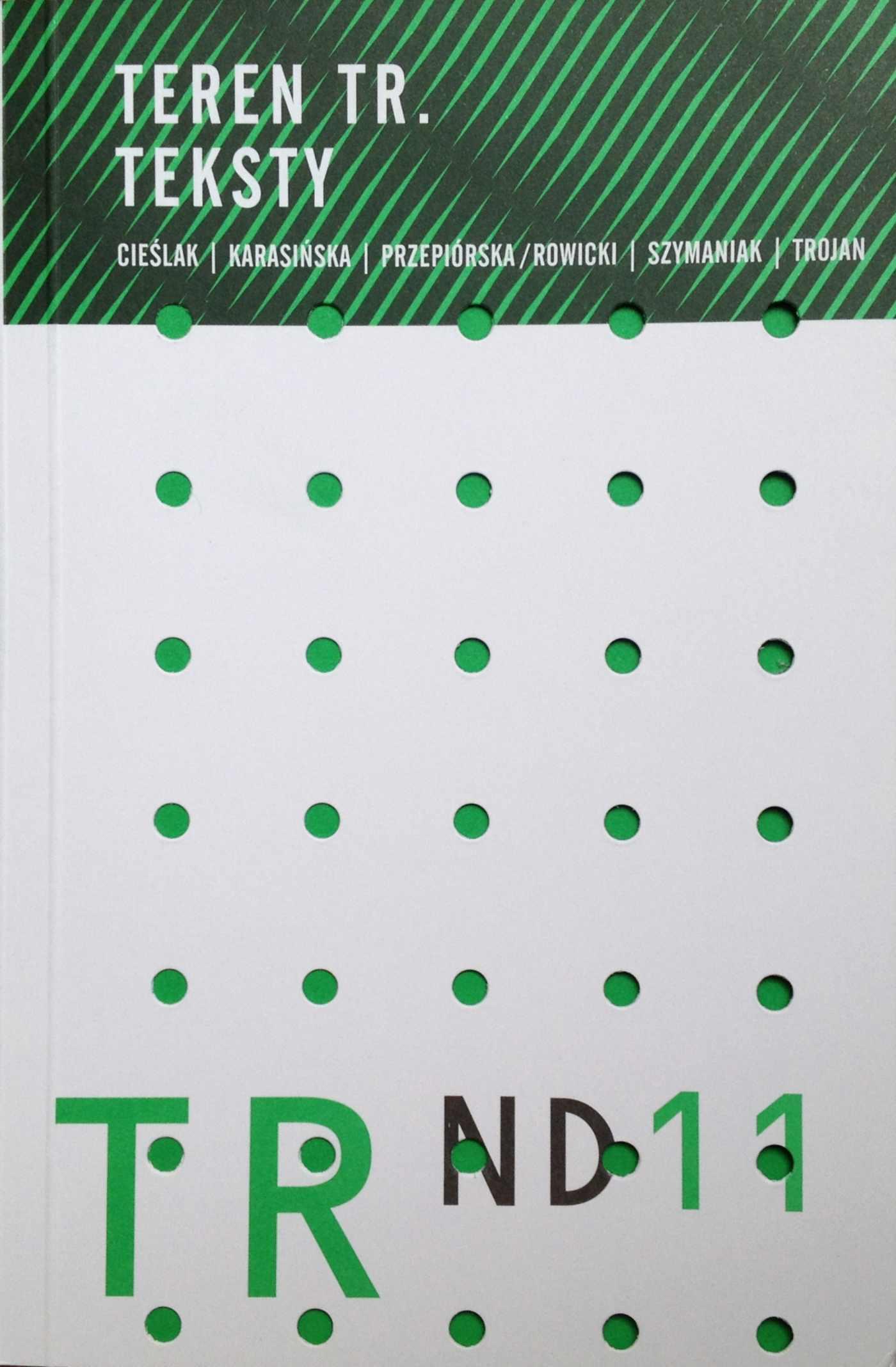 Teren TR. Teksty - Ebook (Książka PDF) do pobrania w formacie PDF