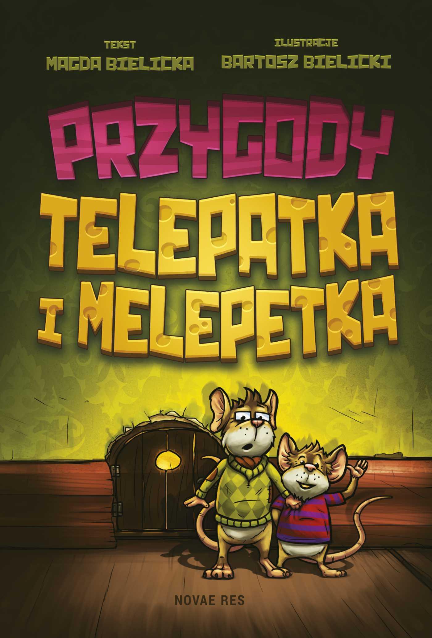 Przygody Telepatka i Melepetka - Ebook (Książka EPUB) do pobrania w formacie EPUB