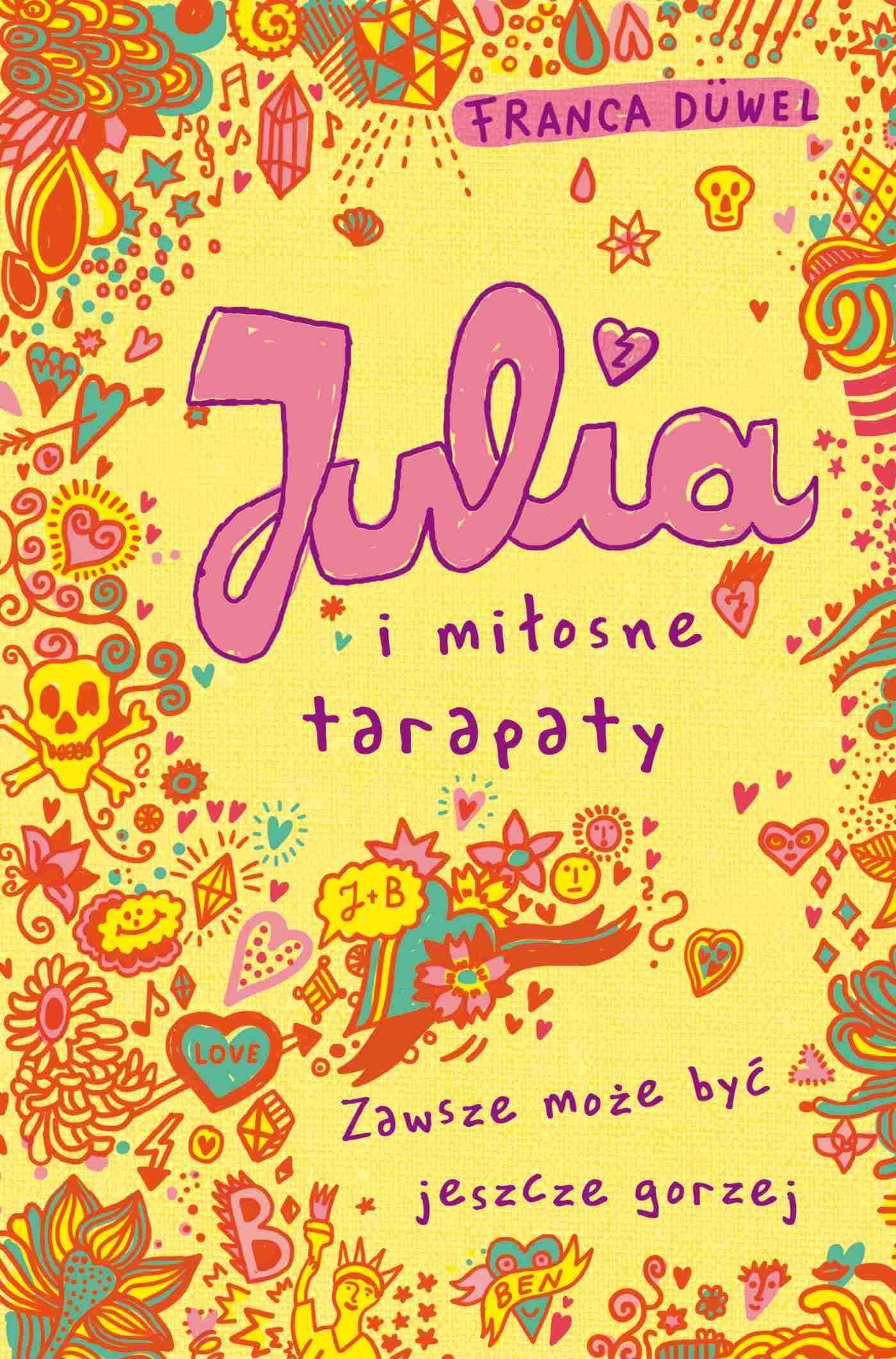 Julia i miłosne tarapaty - Ebook (Książka EPUB) do pobrania w formacie EPUB