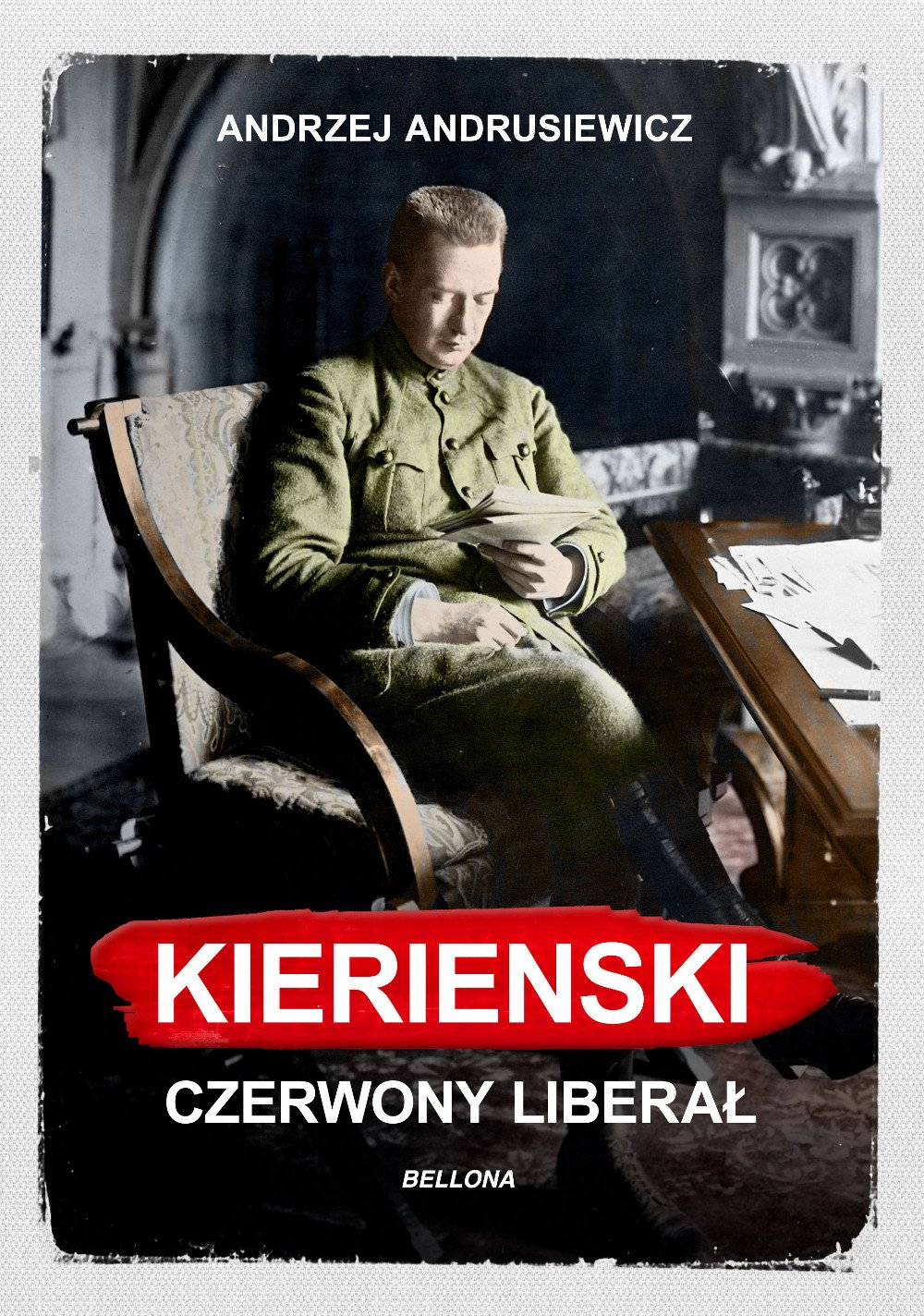 Kiereński. Czerwony liberał - Ebook (Książka na Kindle) do pobrania w formacie MOBI