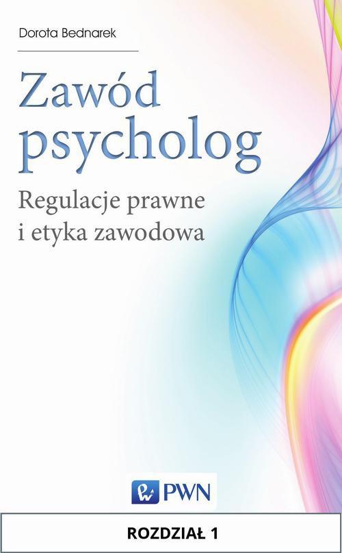 Zawód psycholog. Rozdział 1 - Ebook (Książka EPUB) do pobrania w formacie EPUB