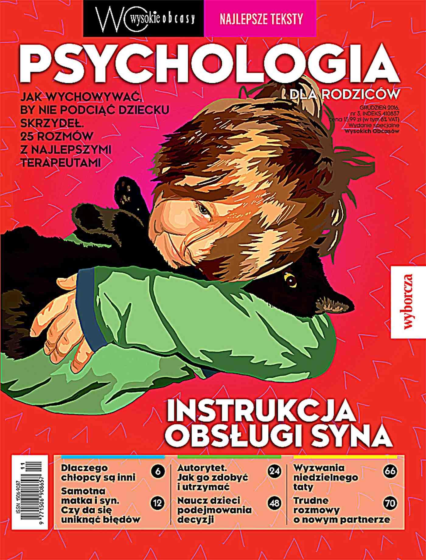 Psychologia dla rodziców 3/2016. Wysokie Obcasy. Wydanie specjalne - Ebook (Książka EPUB) do pobrania w formacie EPUB