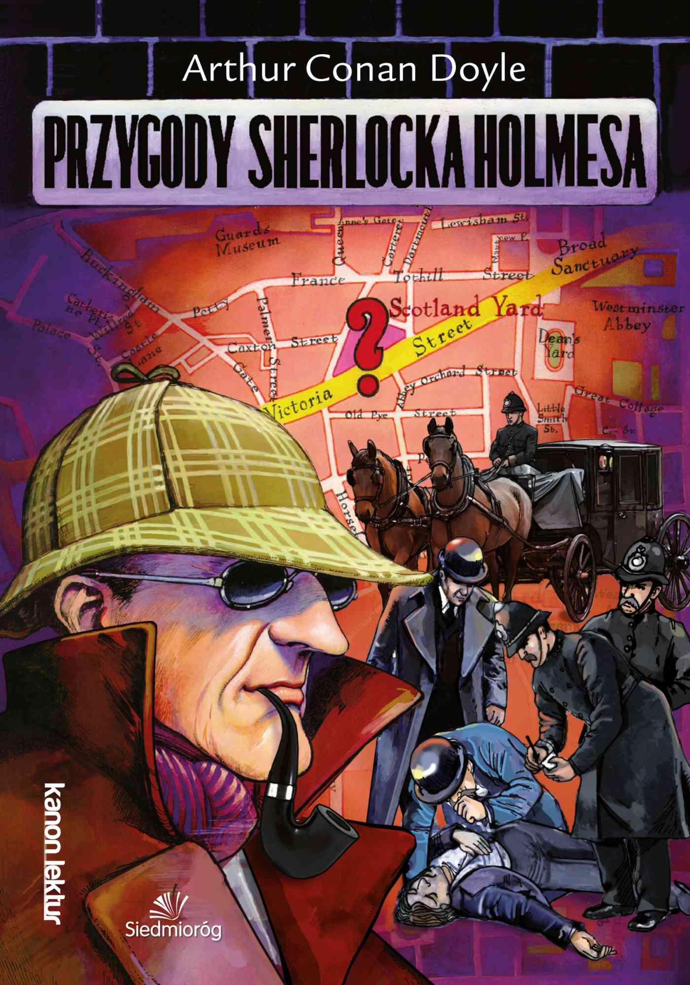Przygody Sherlocka Holmesa - Ebook (Książka EPUB) do pobrania w formacie EPUB