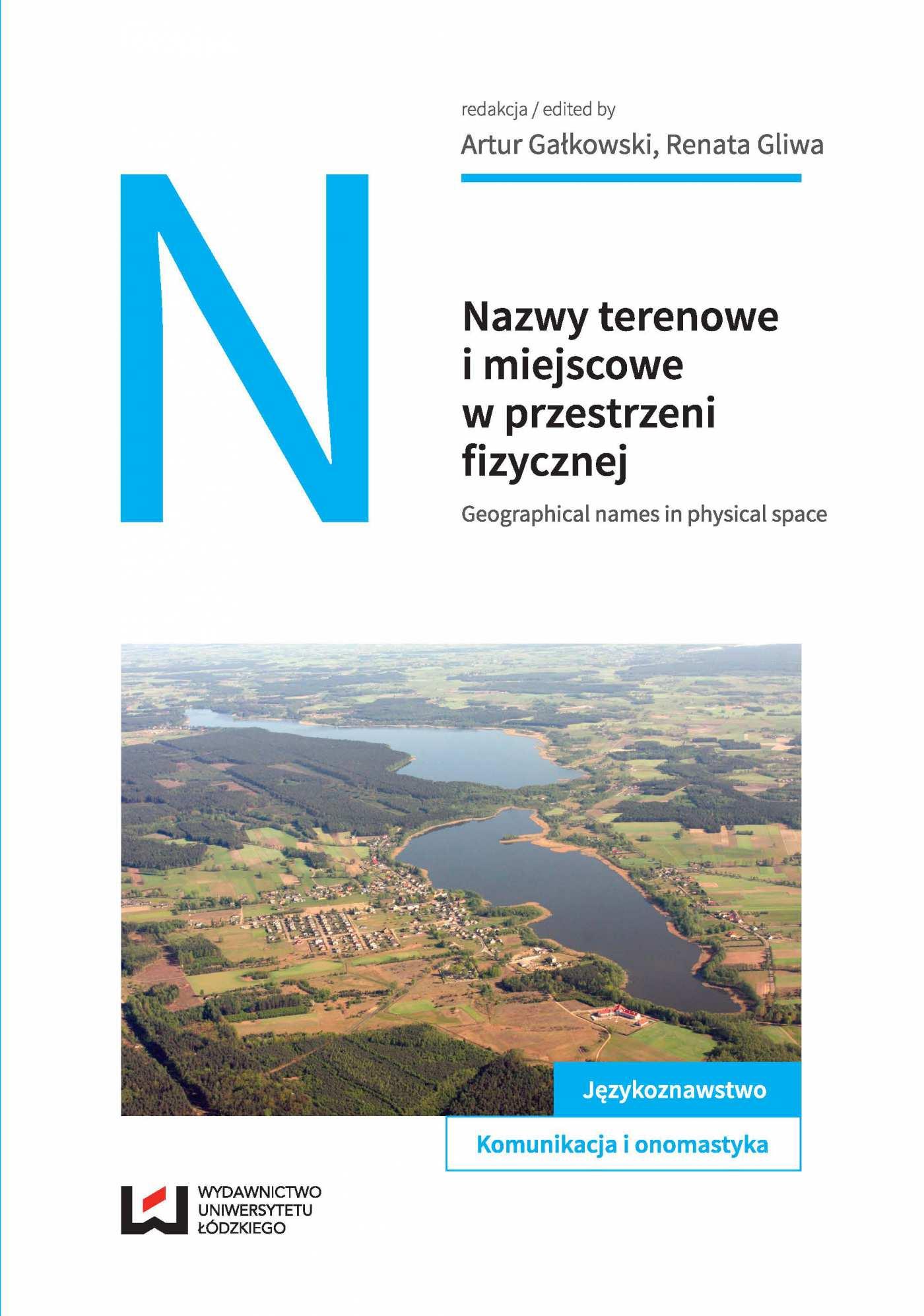 Nazwy terenowe i miejscowe w przestrzeni fizycznej - Ebook (Książka PDF) do pobrania w formacie PDF