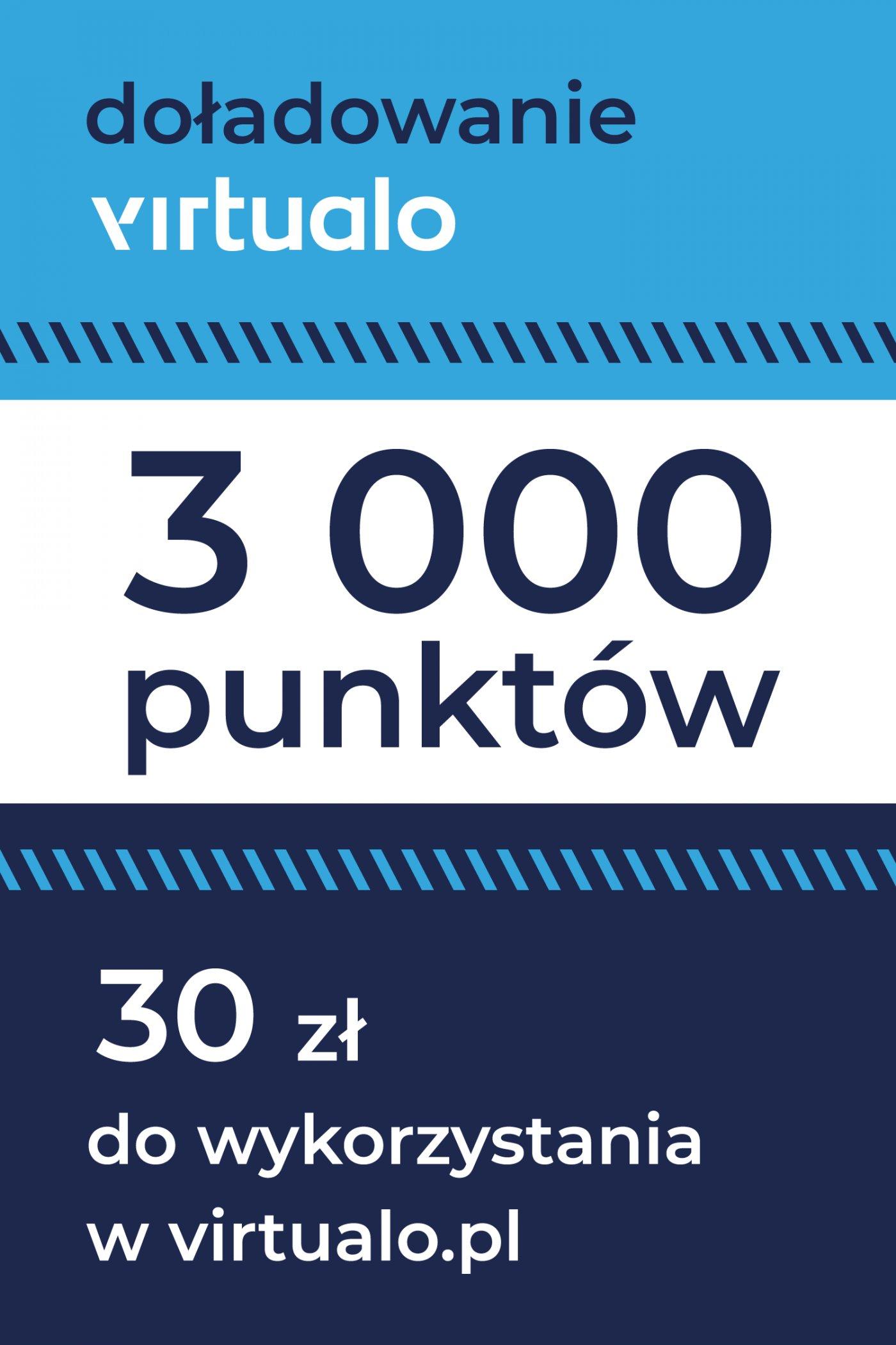 Doładowanie punktów Virtualo - 3000 punktów -