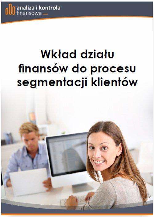 Wkład działu finansów do procesu segmentacji klientów - Ebook (Książka PDF) do pobrania w formacie PDF