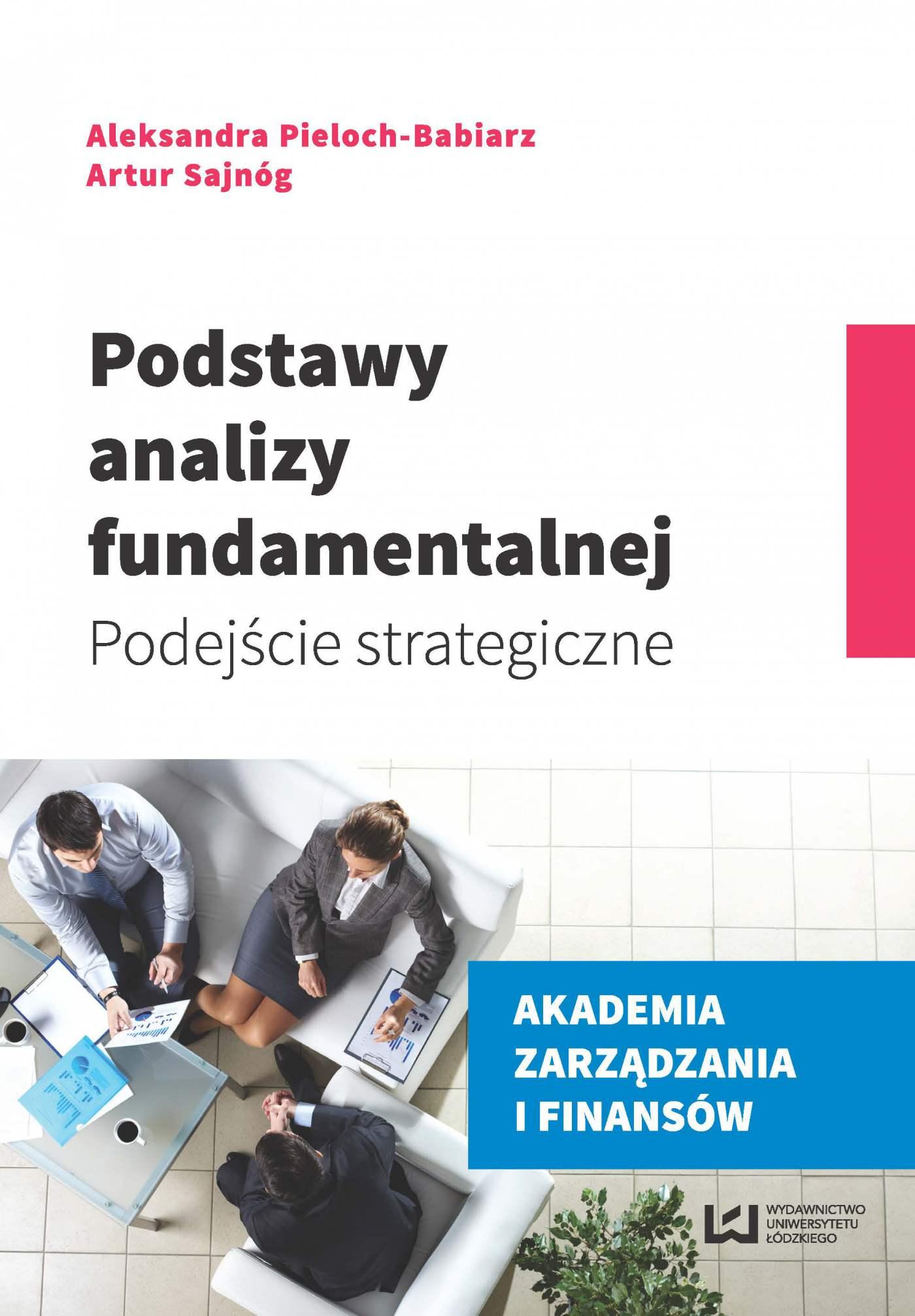 Podstawy analizy fundamentalnej. Podejście strategiczne - Ebook (Książka PDF) do pobrania w formacie PDF