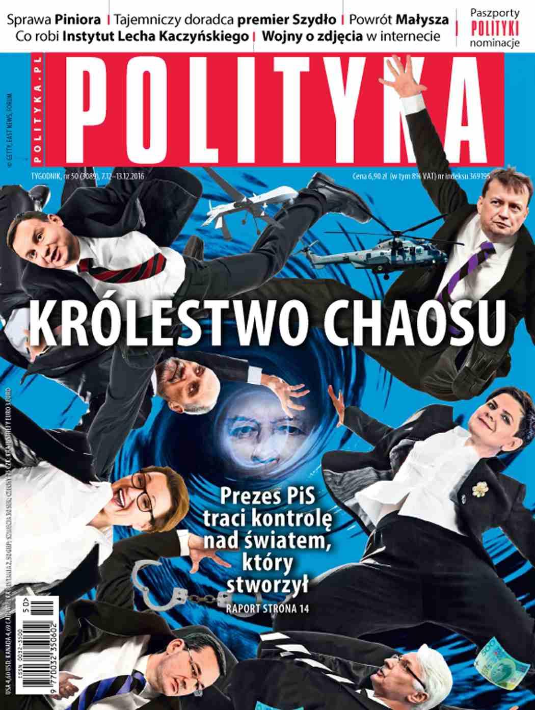 Polityka nr 50/2016 - Ebook (Książka PDF) do pobrania w formacie PDF