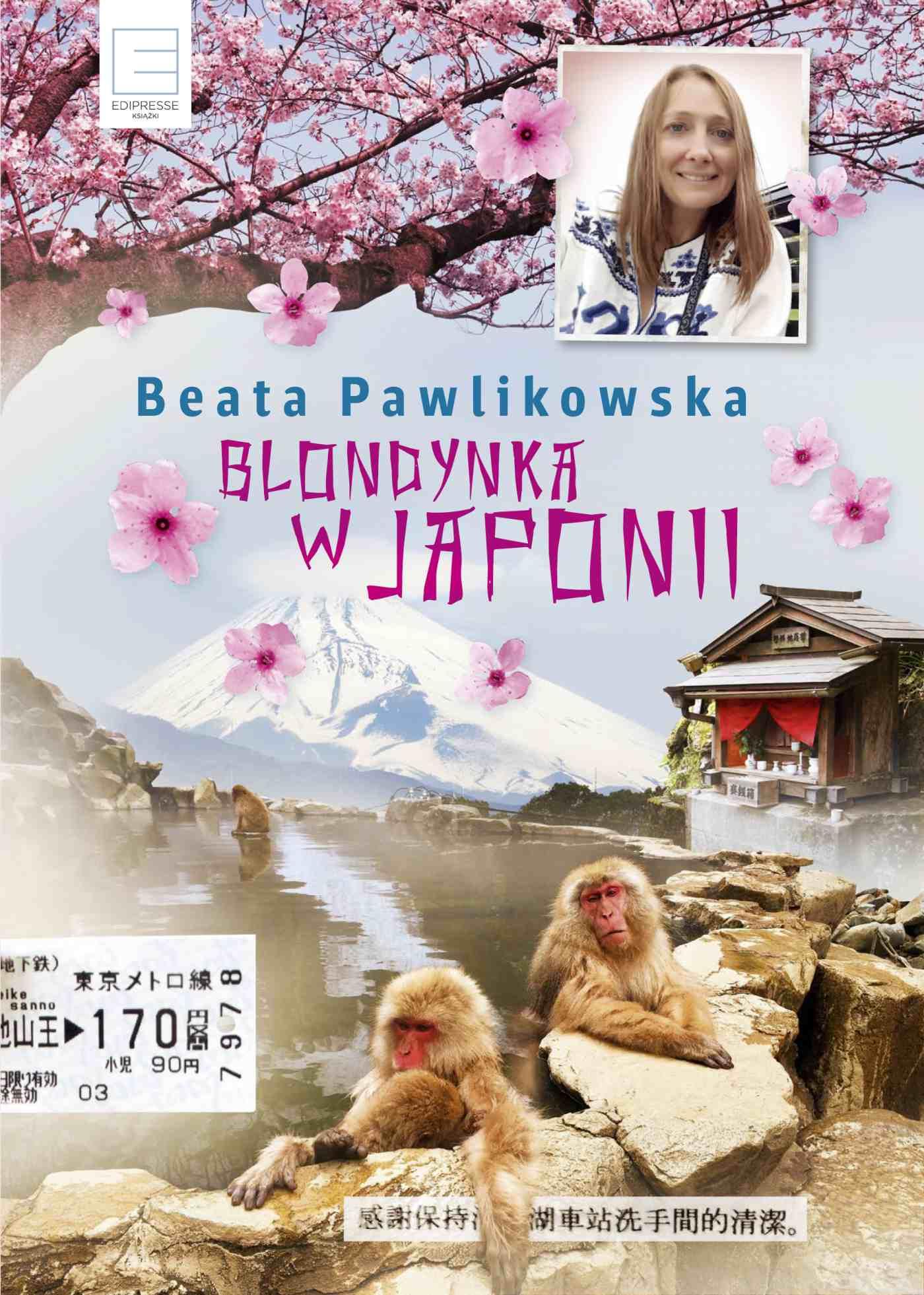 Blondynka w Japonii - Ebook (Książka na Kindle) do pobrania w formacie MOBI