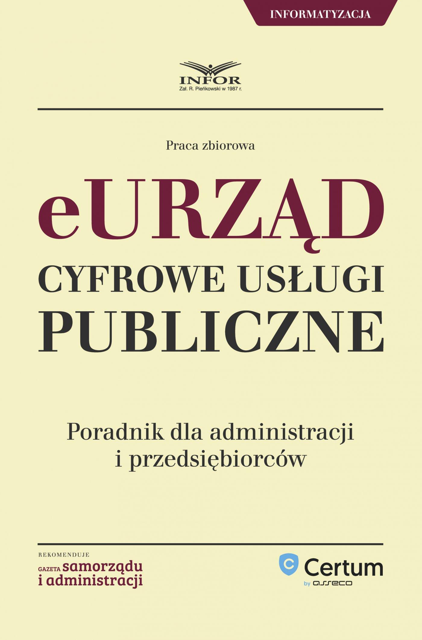 eUrząd - Cyfrowe Usługi Publiczne - Ebook (Książka PDF) do pobrania w formacie PDF