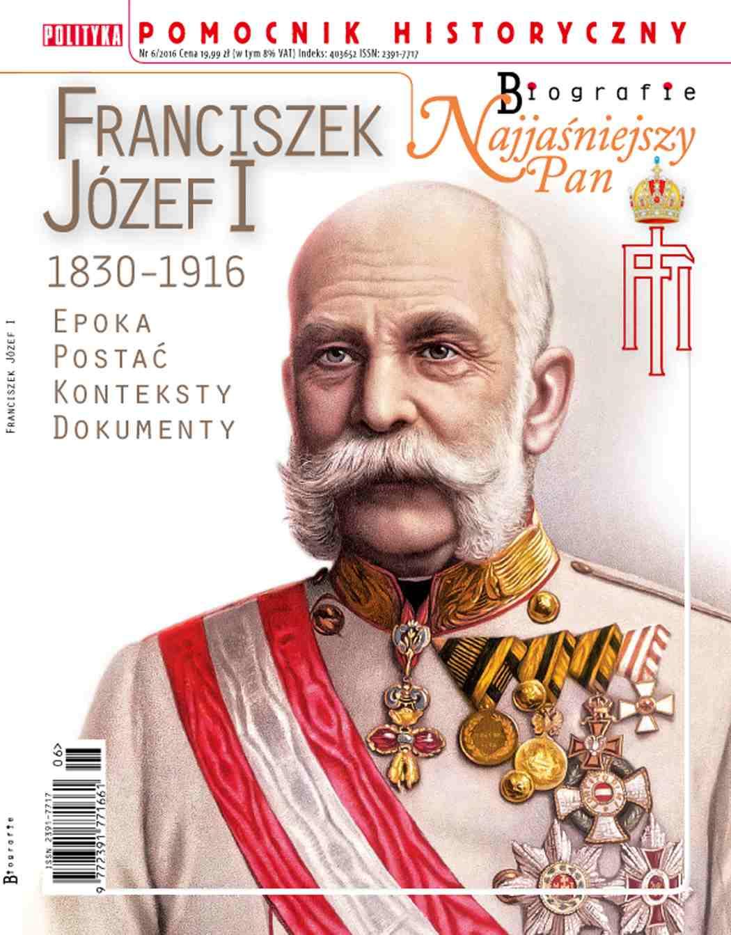 Pomocnik Historyczny. Franciszek Józef I - Ebook (Książka PDF) do pobrania w formacie PDF