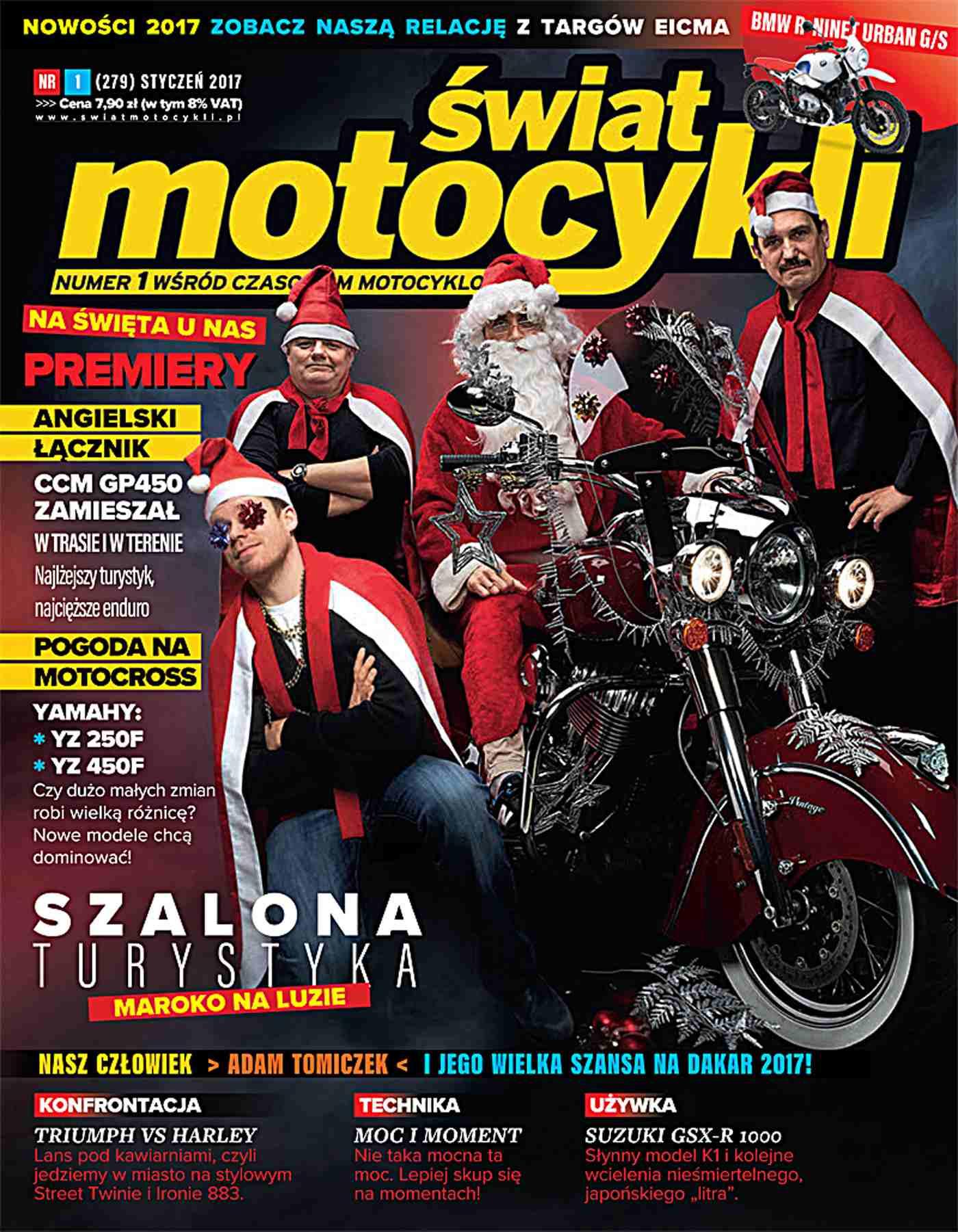 Świat Motocykli 01/2017 - Ebook (Książka PDF) do pobrania w formacie PDF