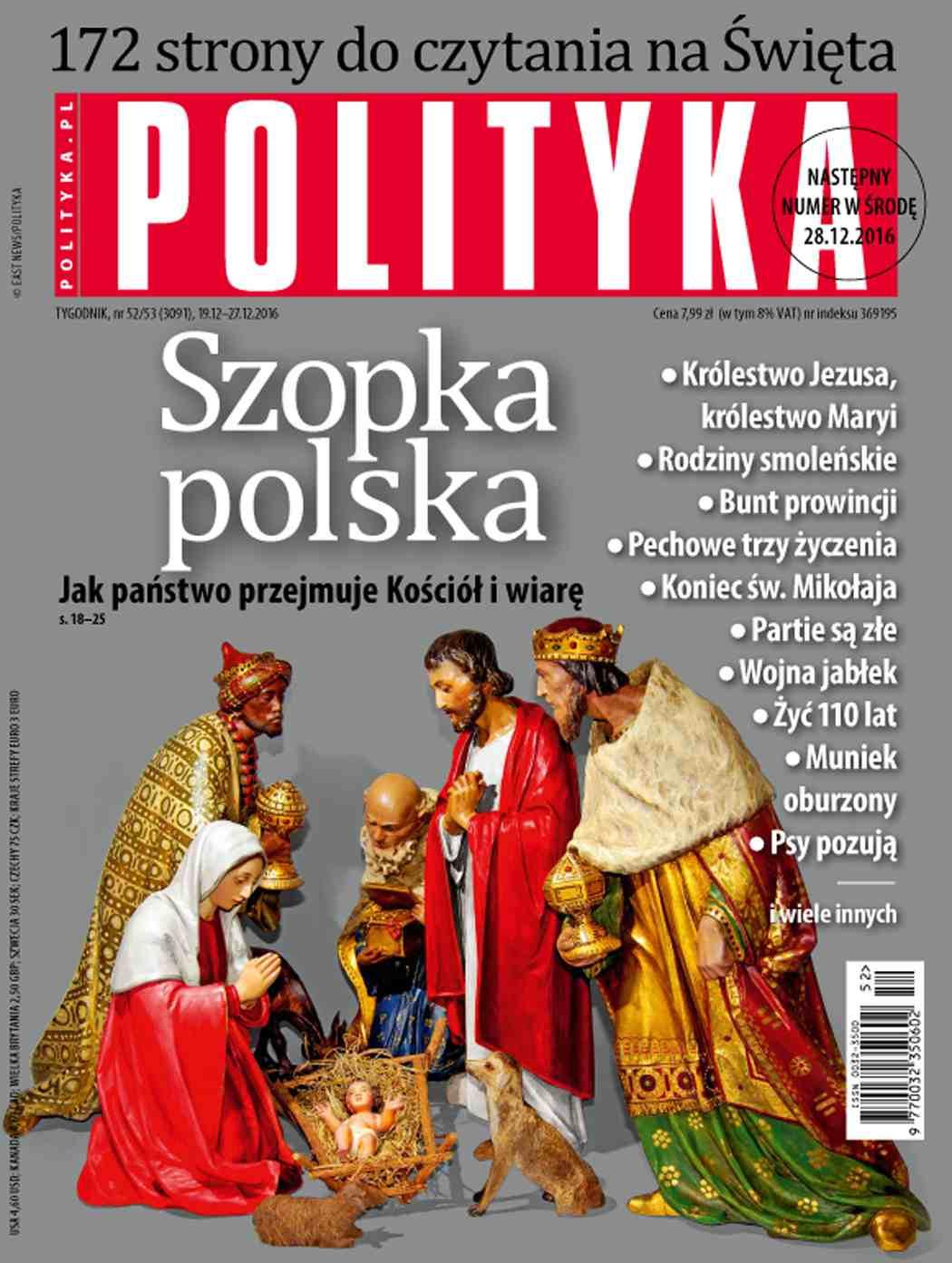 Polityka nr 52/53/2016 - Ebook (Książka PDF) do pobrania w formacie PDF
