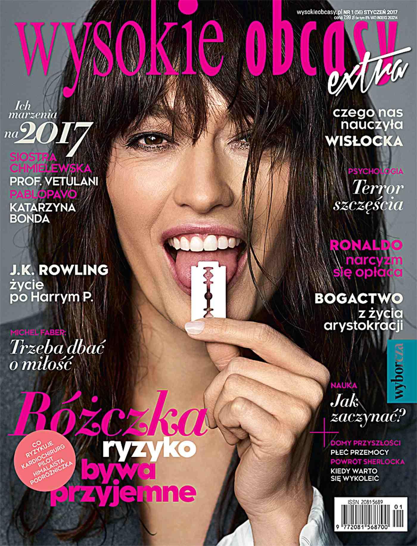 Wysokie Obcasy Extra 1/2017 - Ebook (Książka na Kindle) do pobrania w formacie MOBI