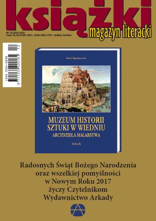 Magazyn Literacki KSIĄŻKI 12/2016 - Ebook (Książka PDF) do pobrania w formacie PDF