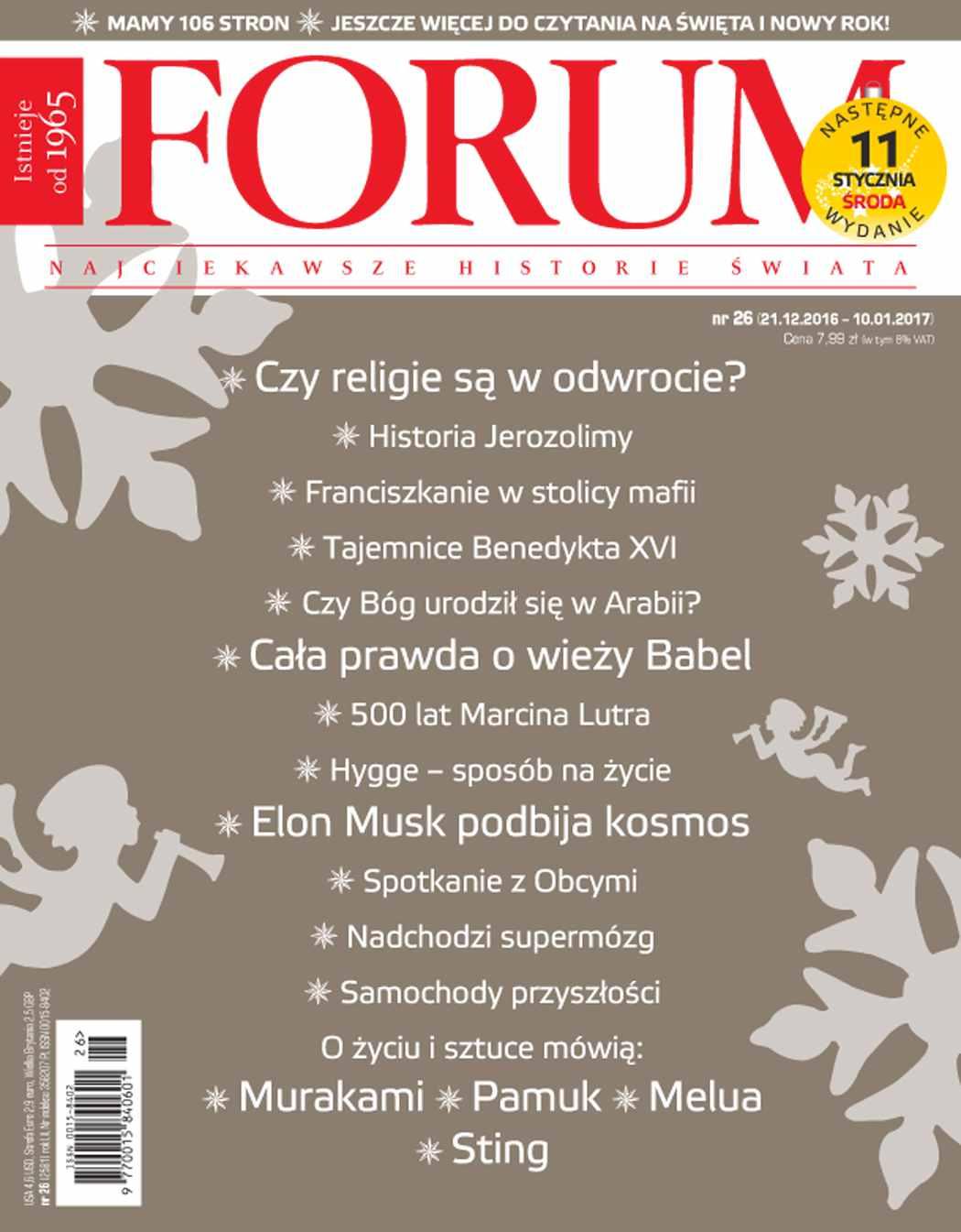 Forum nr 26/2016 - Ebook (Książka PDF) do pobrania w formacie PDF