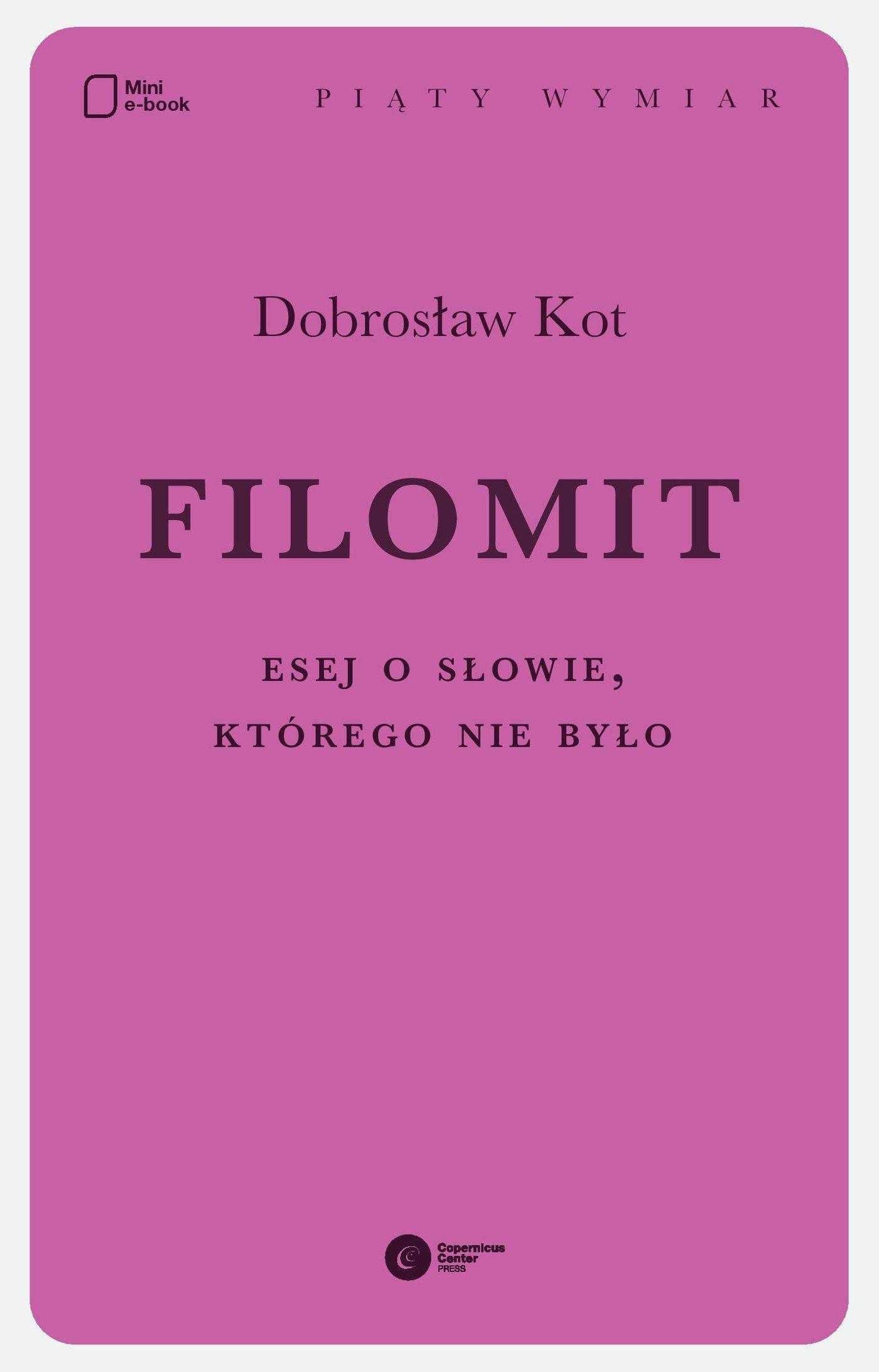 Filomit - Ebook (Książka na Kindle) do pobrania w formacie MOBI