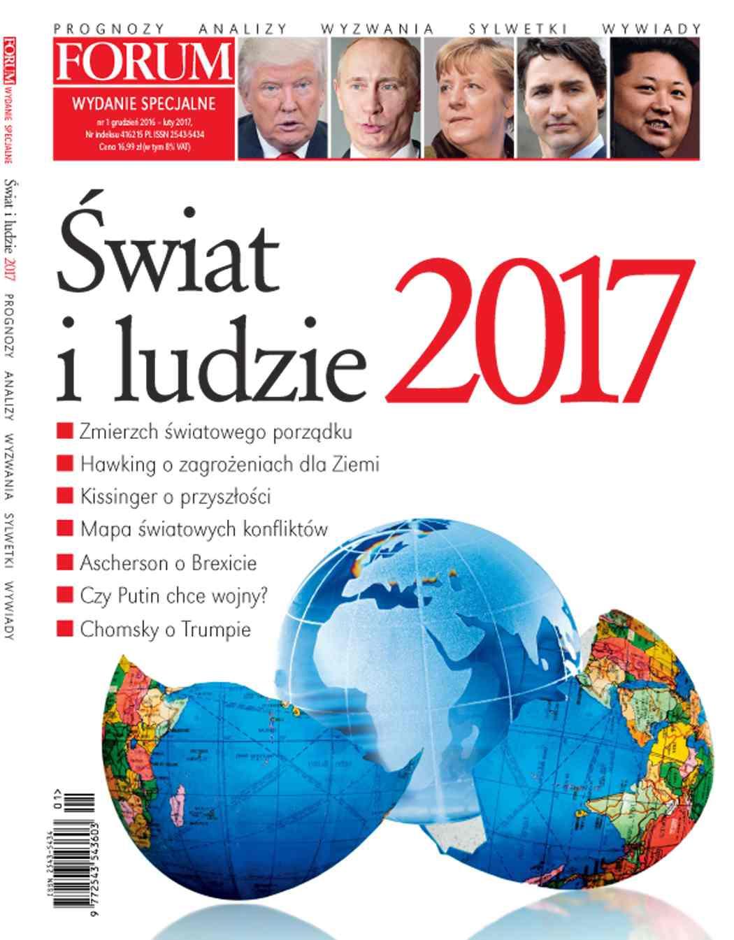 Forum Wydanie Specjalne Świat i Ludzie nr 1/2017 - Ebook (Książka PDF) do pobrania w formacie PDF