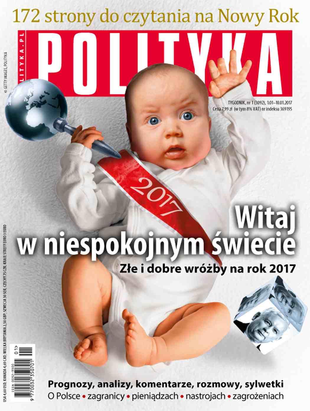 Polityka nr 1/2017 - Ebook (Książka PDF) do pobrania w formacie PDF