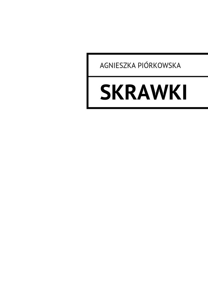 Skrawki - Ebook (Książka na Kindle) do pobrania w formacie MOBI