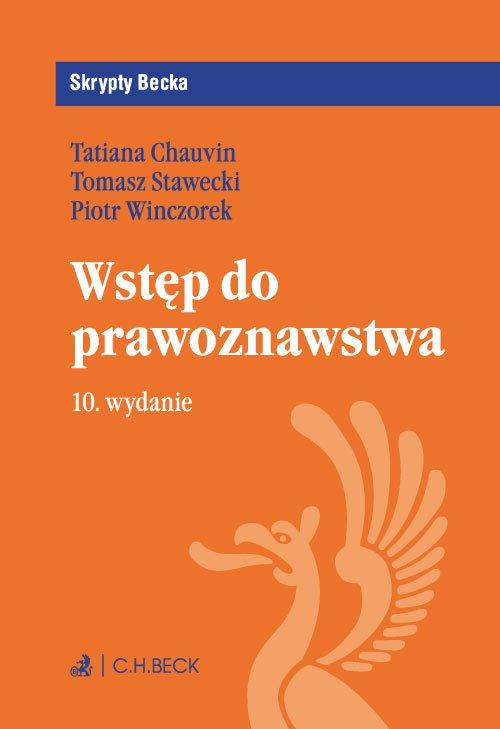 Wstęp do prawoznawstwa. Wydanie 10 - Ebook (Książka PDF) do pobrania w formacie PDF