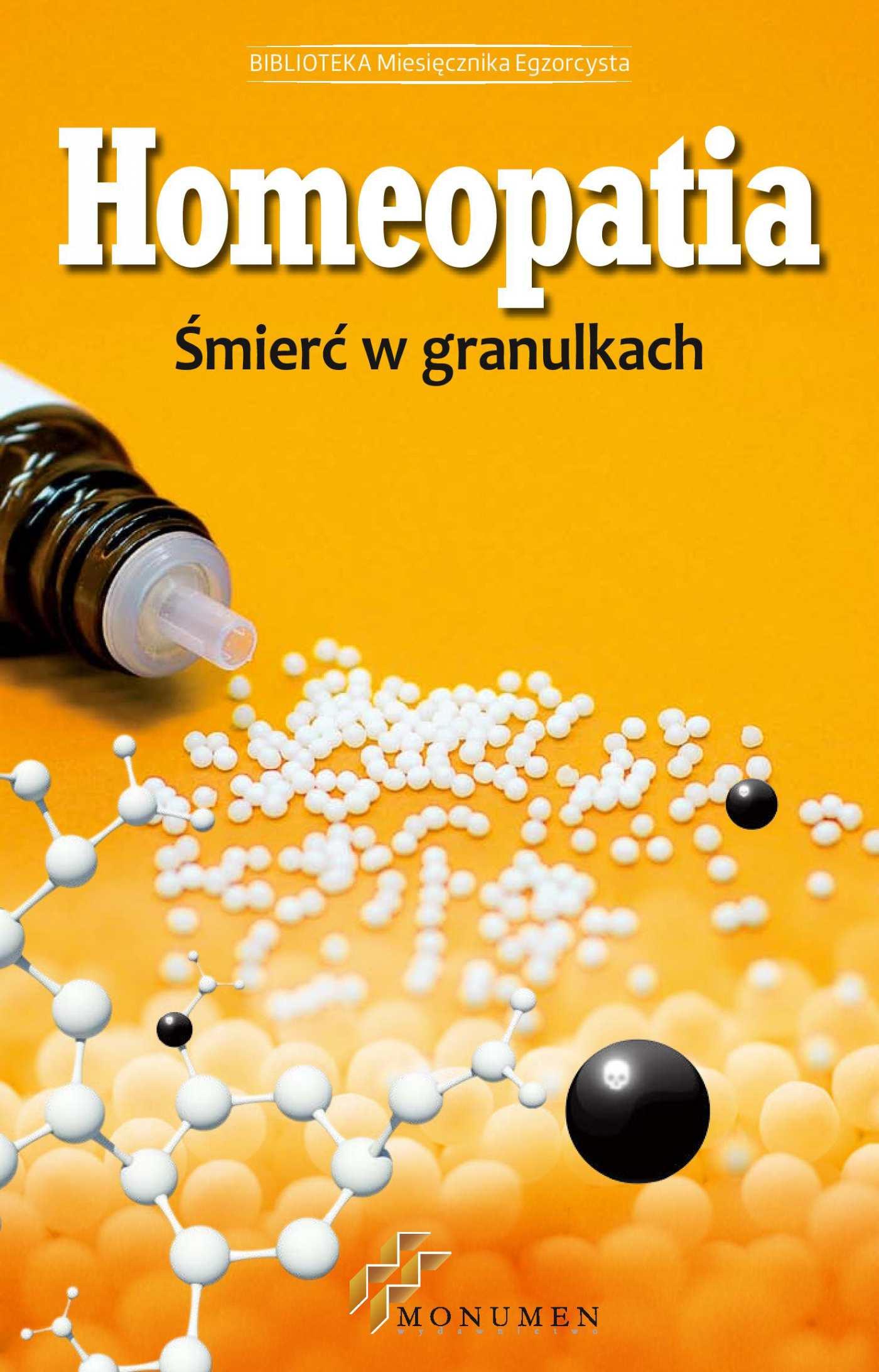 Homeopatia śmierć w granulkach - Ebook (Książka EPUB) do pobrania w formacie EPUB
