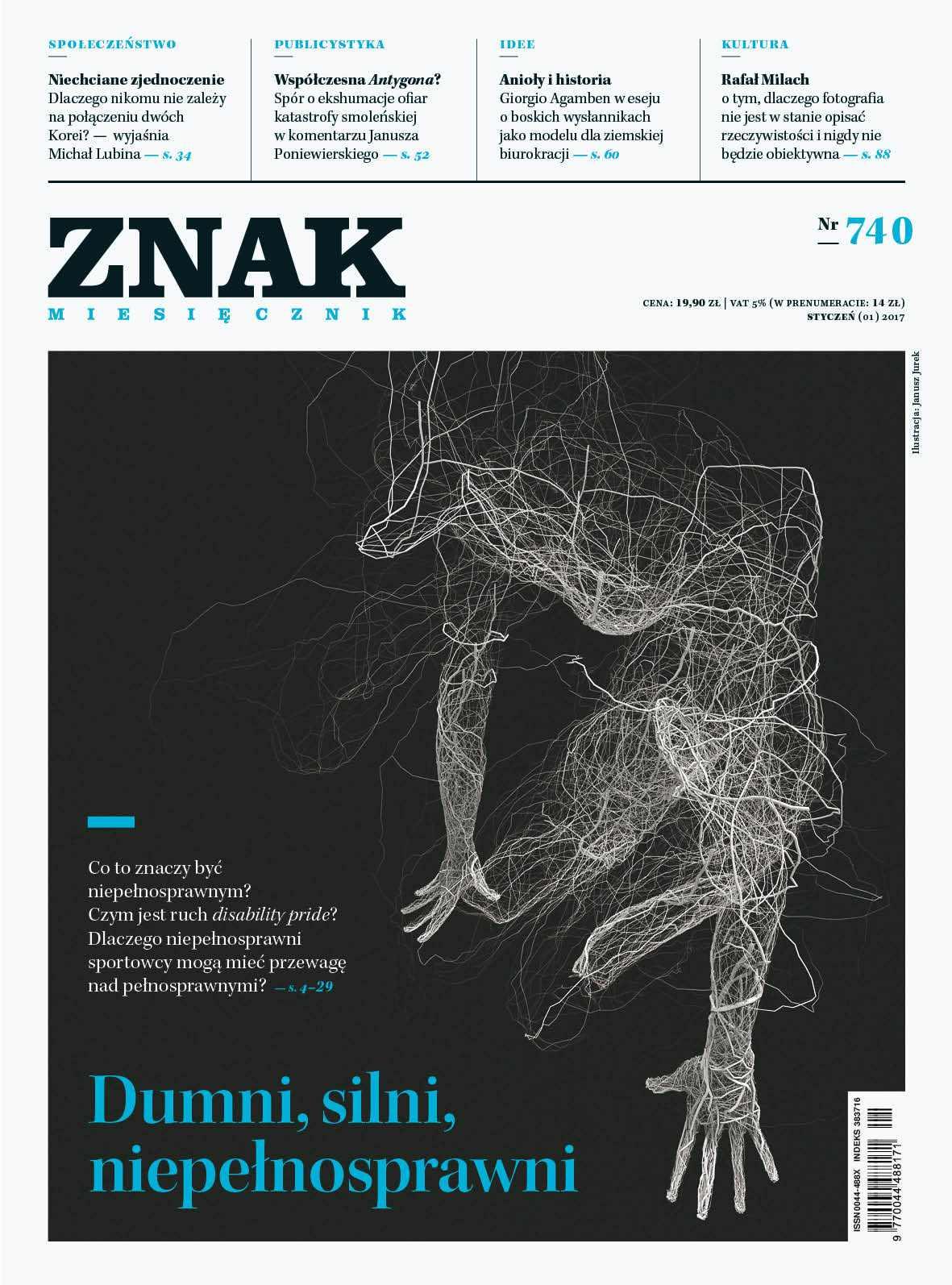 Miesięcznik Znak nr 740: Dumni, silni, niepełnosprawni - Ebook (Książka EPUB) do pobrania w formacie EPUB