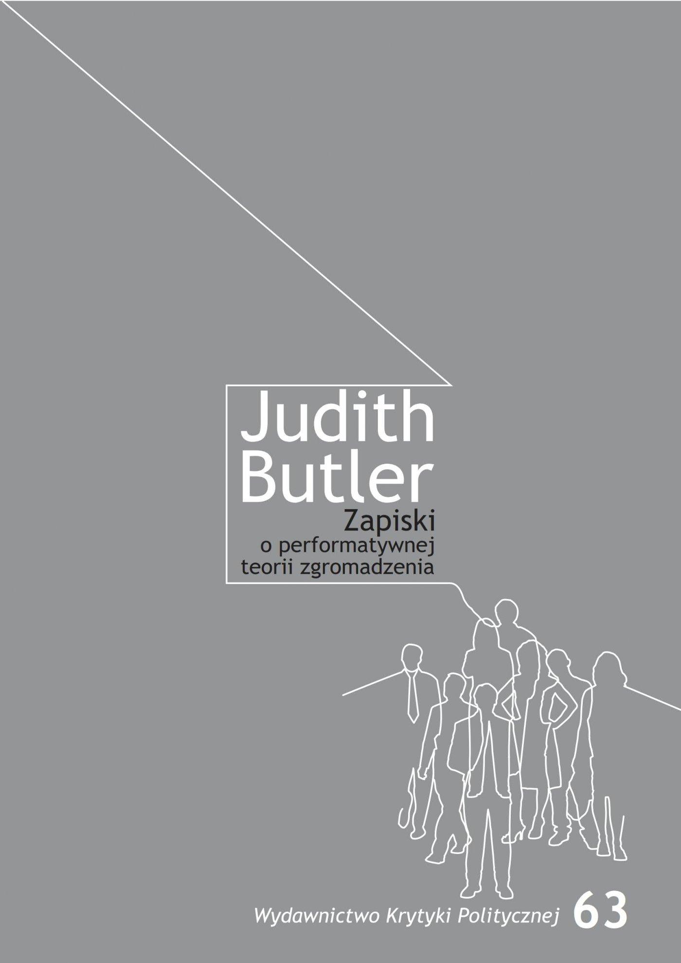 Zapiski o performatywnej teorii zgromadzenia - Ebook (Książka EPUB) do pobrania w formacie EPUB