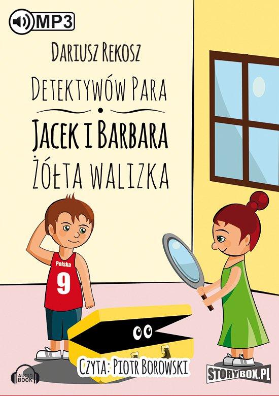 Detektywów para - Jacek i Barbara. Żółta walizka - Audiobook (Książka audio MP3) do pobrania w całości w archiwum ZIP
