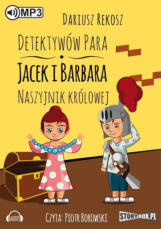 Detektywów para - Jacek i Barbara. Naszyjnik królowej. - Audiobook (Książka audio MP3) do pobrania w całości w archiwum ZIP