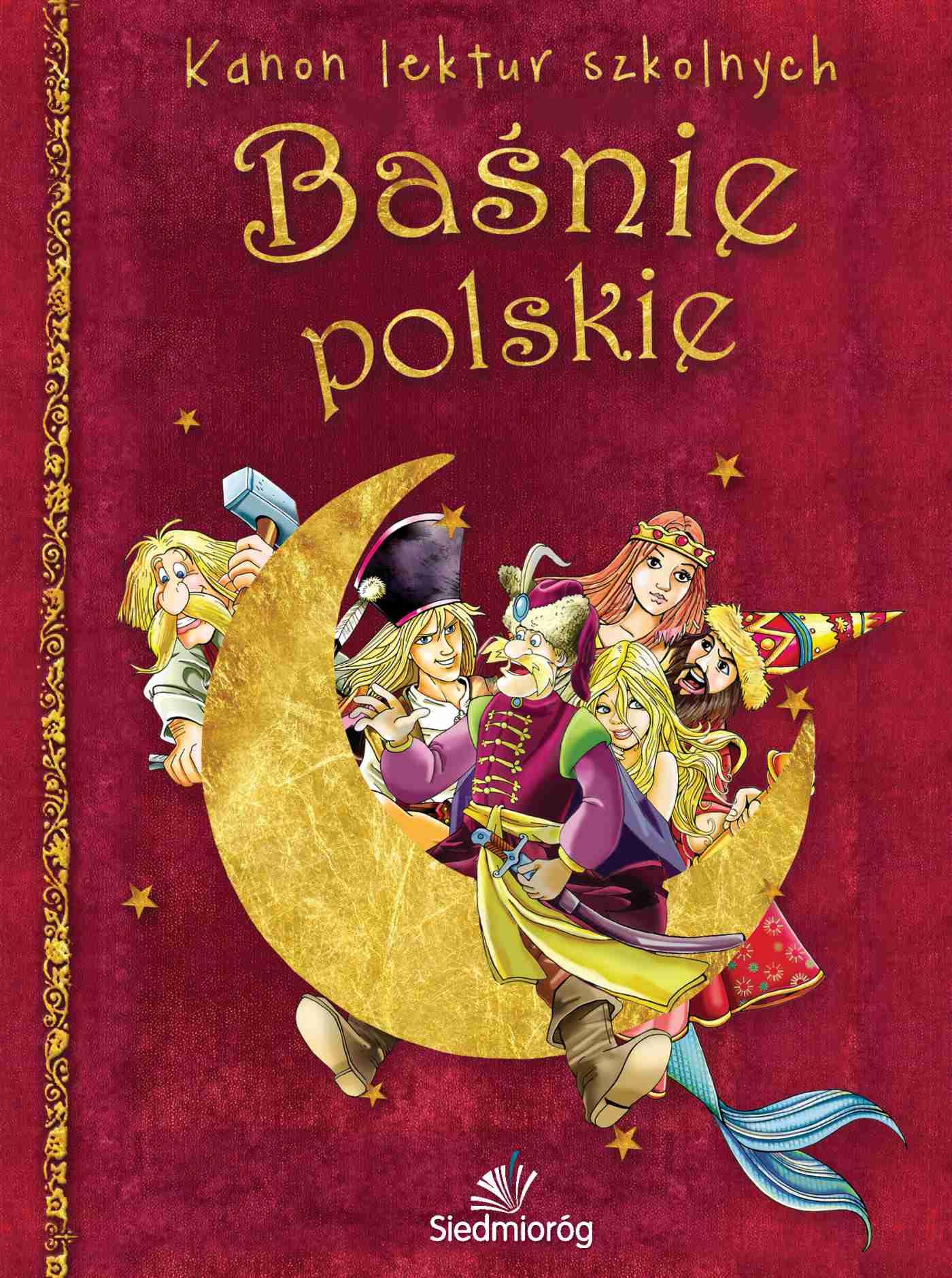 Baśnie polskie - Ebook (Książka na Kindle) do pobrania w formacie MOBI