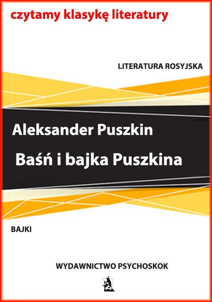 Baśń i bajka Puszkina - Ebook (Książka EPUB) do pobrania w formacie EPUB