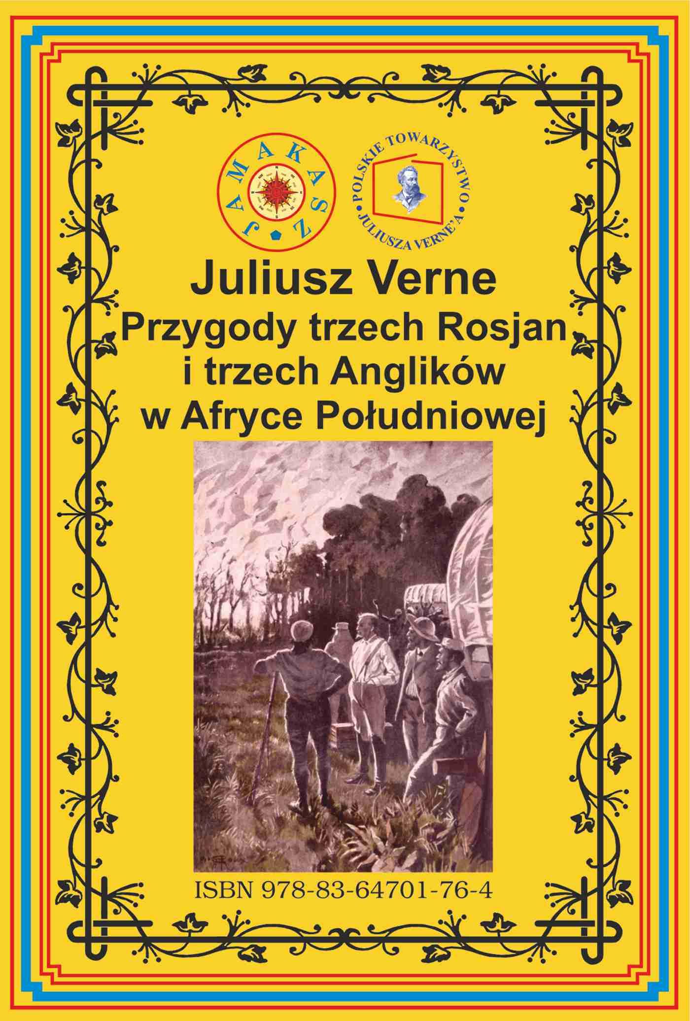 Przygody trzech Rosjan i trzech Anglików w Afryce Południowej - Ebook (Książka EPUB) do pobrania w formacie EPUB