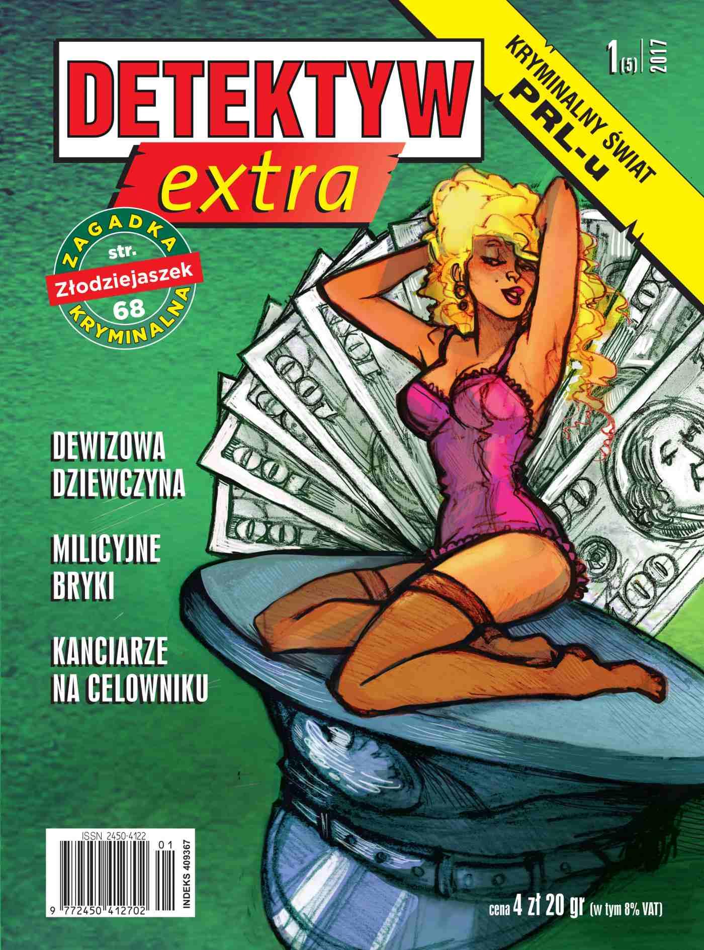 Detektyw Extra 1/2017 - Ebook (Książka na Kindle) do pobrania w formacie MOBI