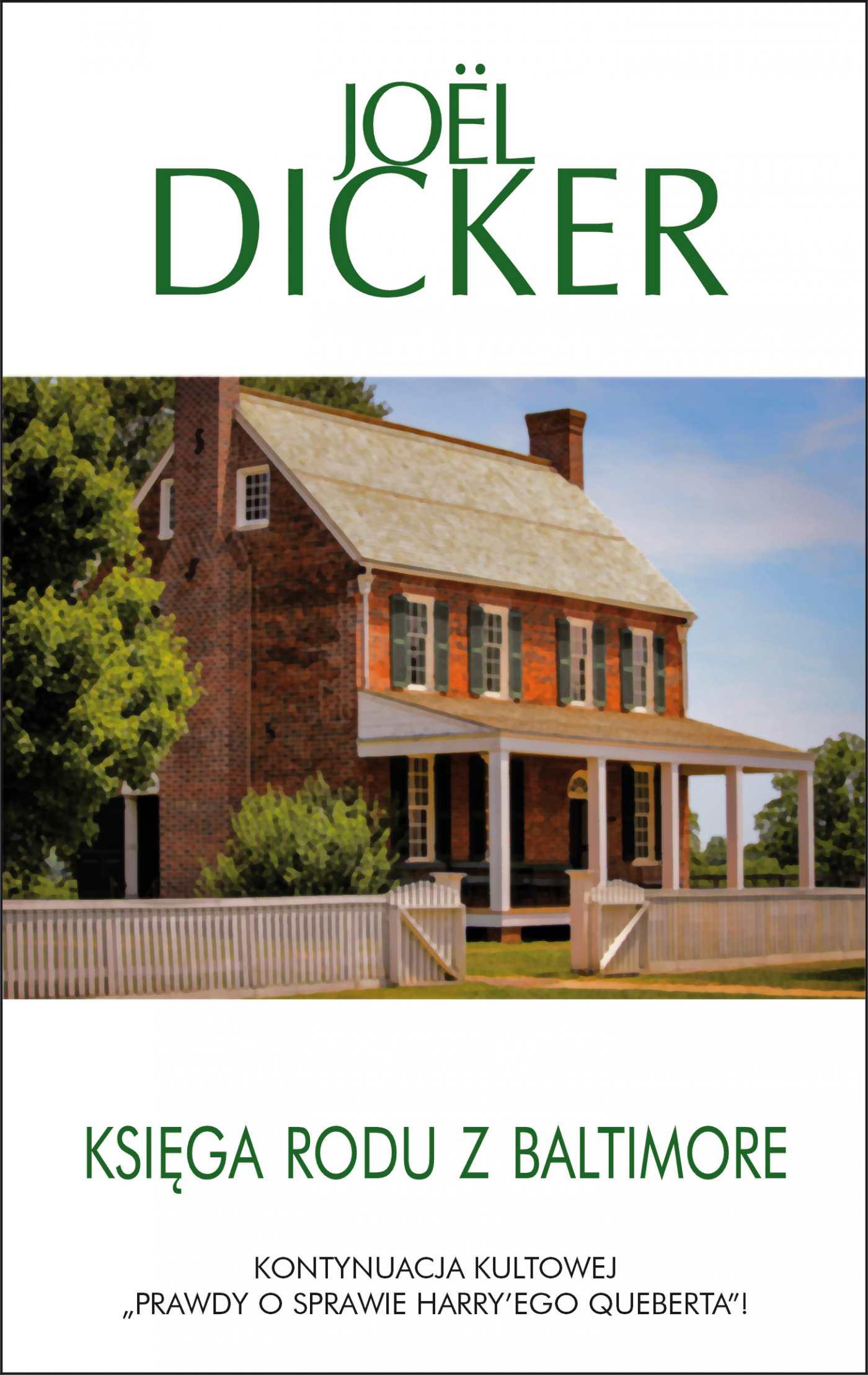 Księga rodu z Baltimore - Ebook (Książka na Kindle) do pobrania w formacie MOBI